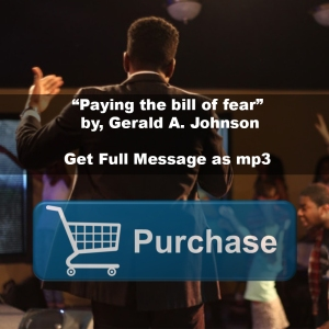 paying the bill of fear button
